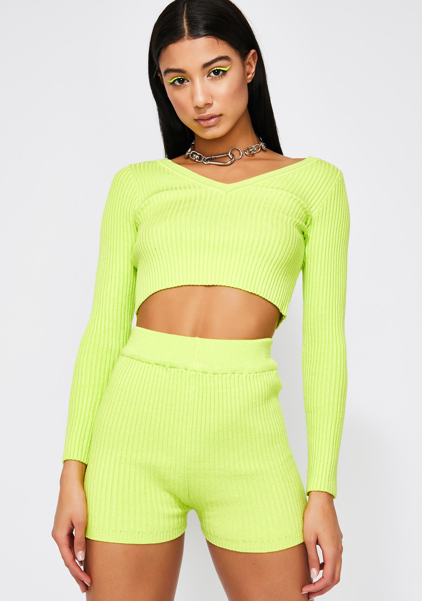 Melrose Avenue Sweater Set