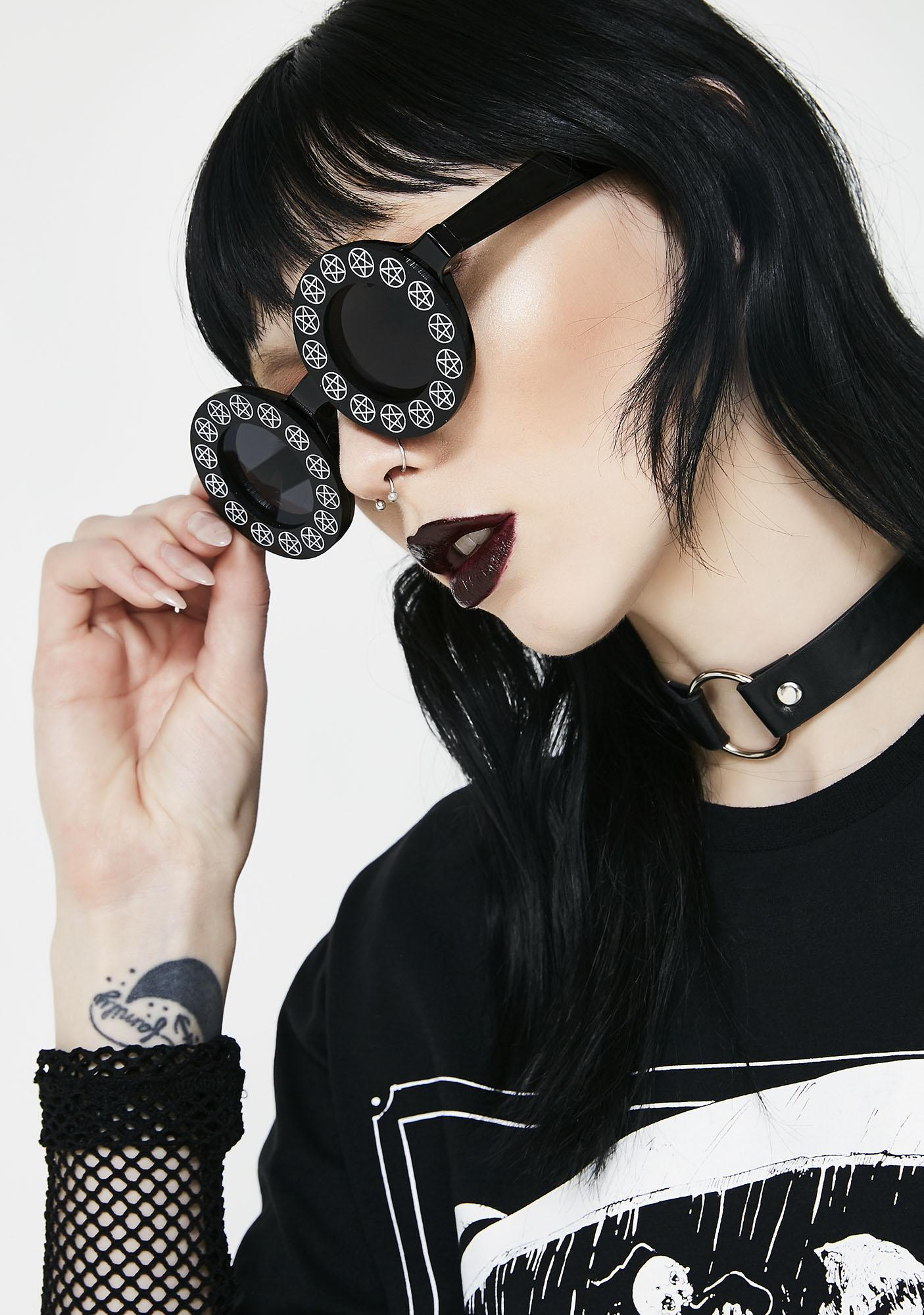 Witch Worldwide Pentacles Sunglasses