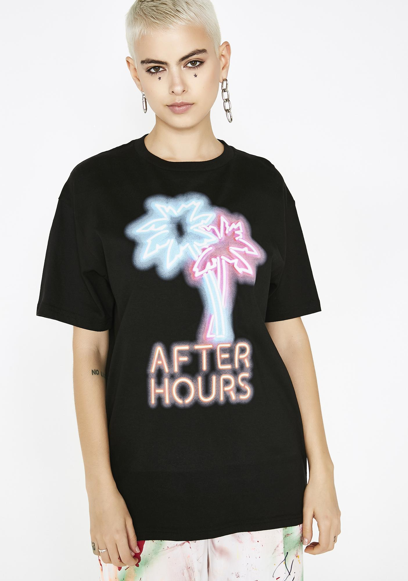 533dcf453 After Hours Neon Nights T-Shirt | Dolls Kill