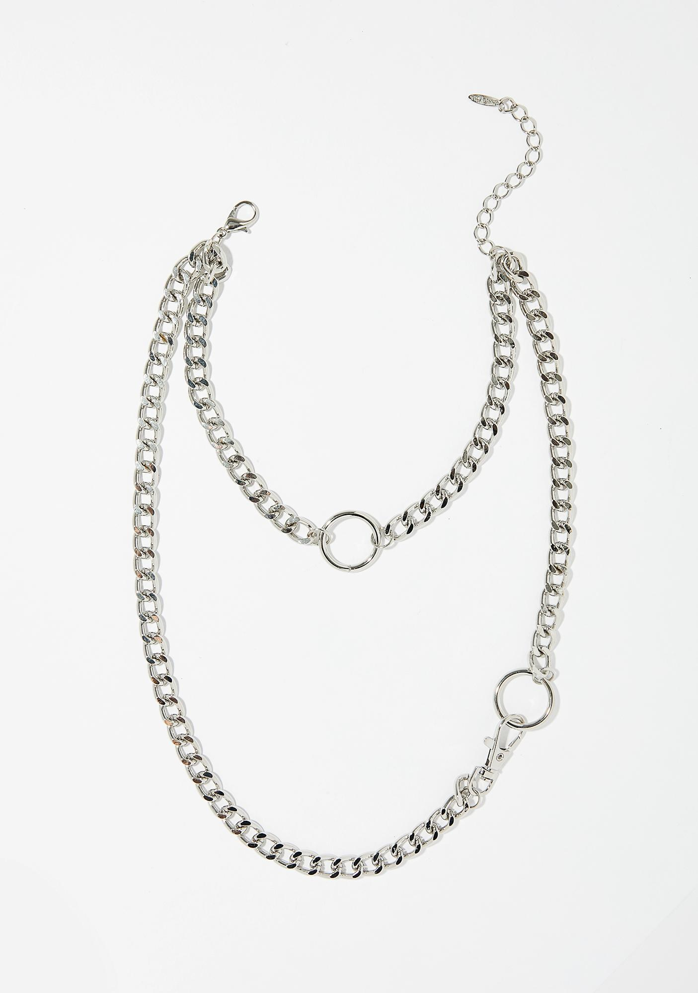 Chain Reaction Layered Necklace