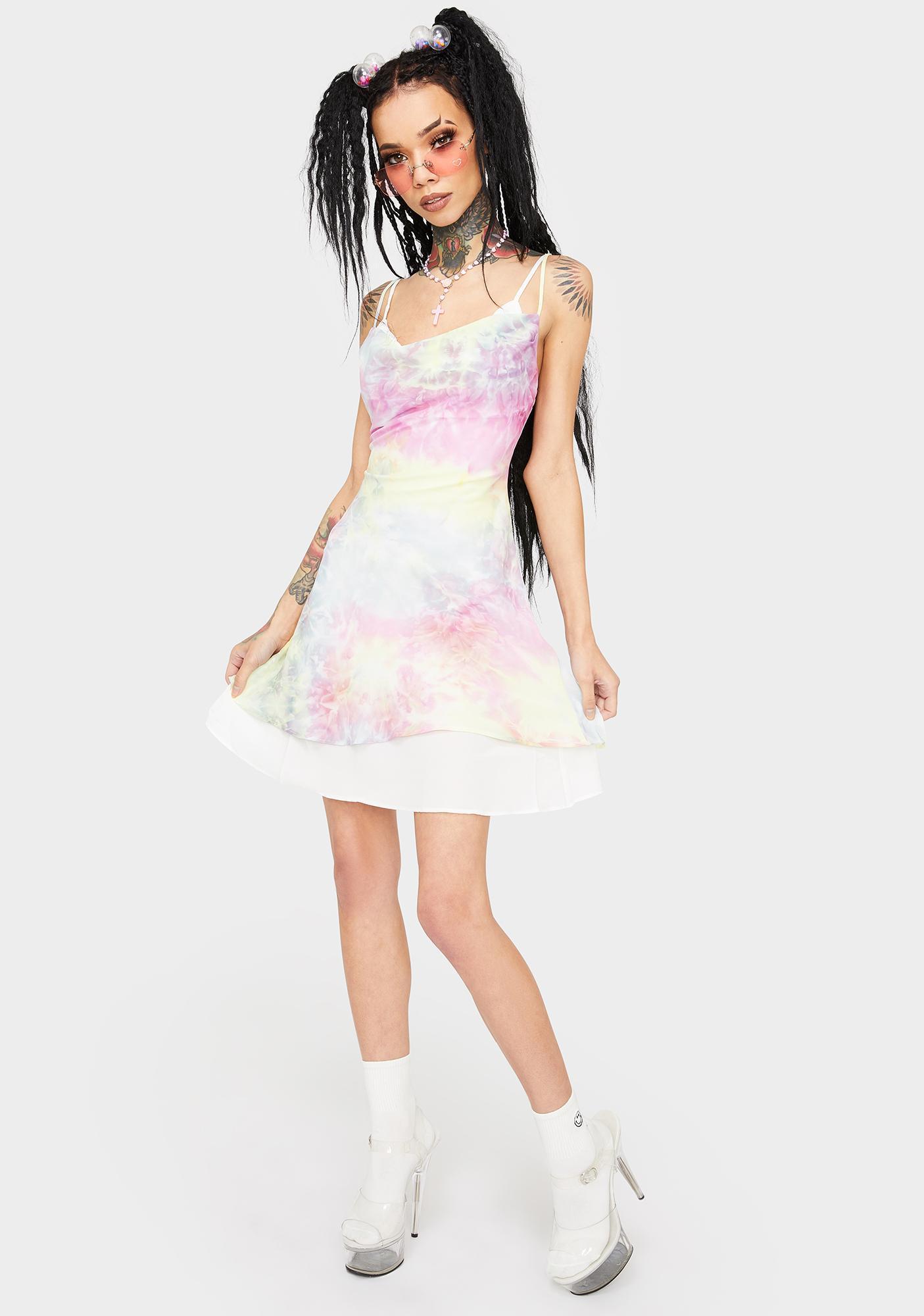 Sweet Disposition Tie Dye Dress