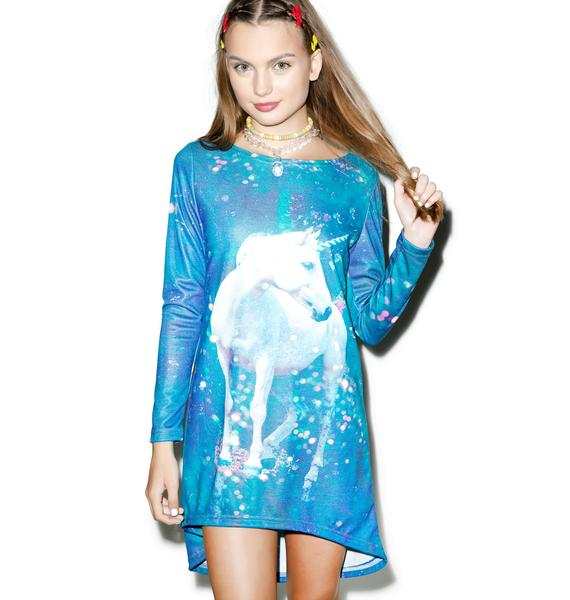 Unicorn Trapeze Dress
