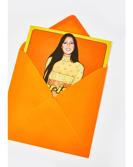I Cher-Ish You Card