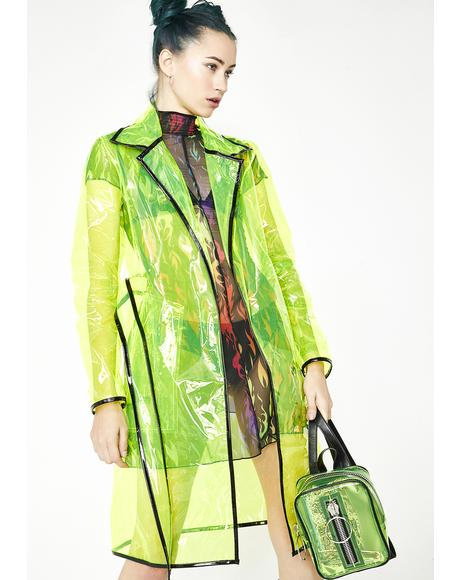 Matrixx Slime Clear Raincoat