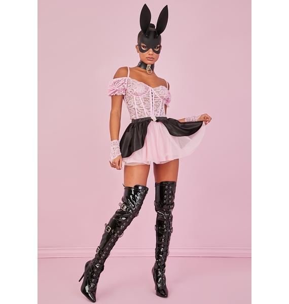 Sugar Thrillz Sweet Stroke Of Midnight Tulle Skirt