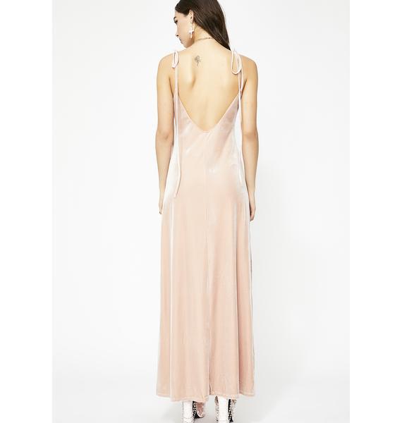 Blush So Swanky Maxi Dress