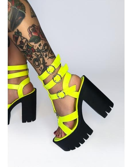Volt Fear Nothing Platform Heels