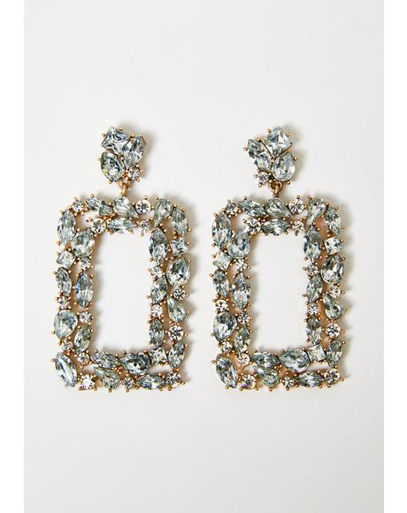 Opulent Lover Jeweled Earrings