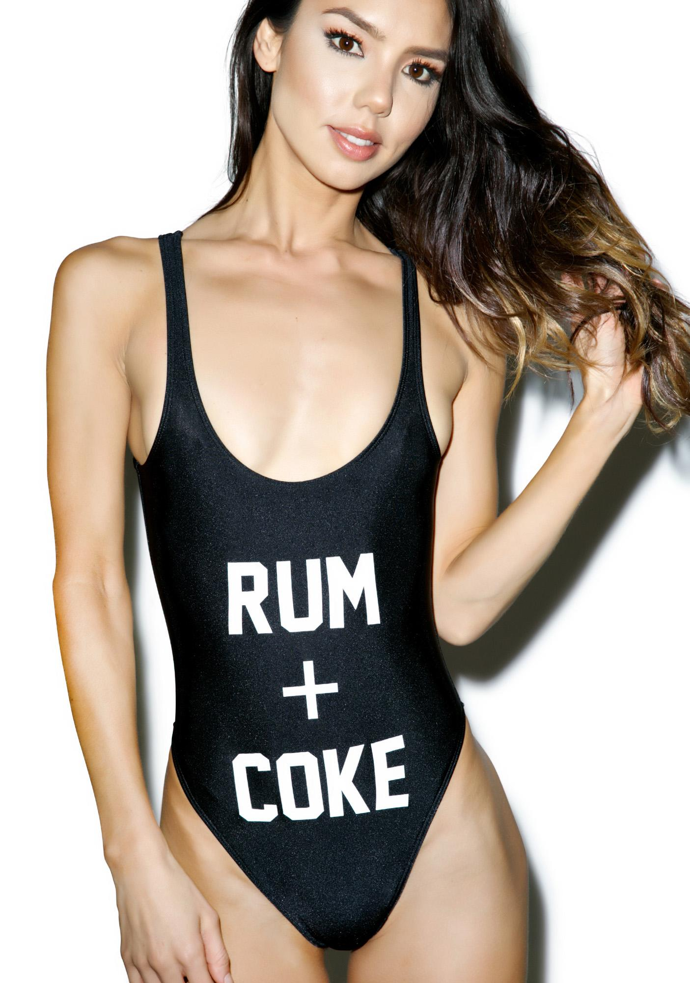 Private Party Rum + Coke Swimsuit