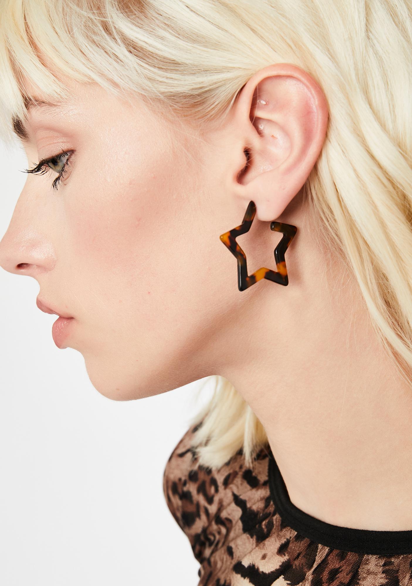One Wish Star Earrings