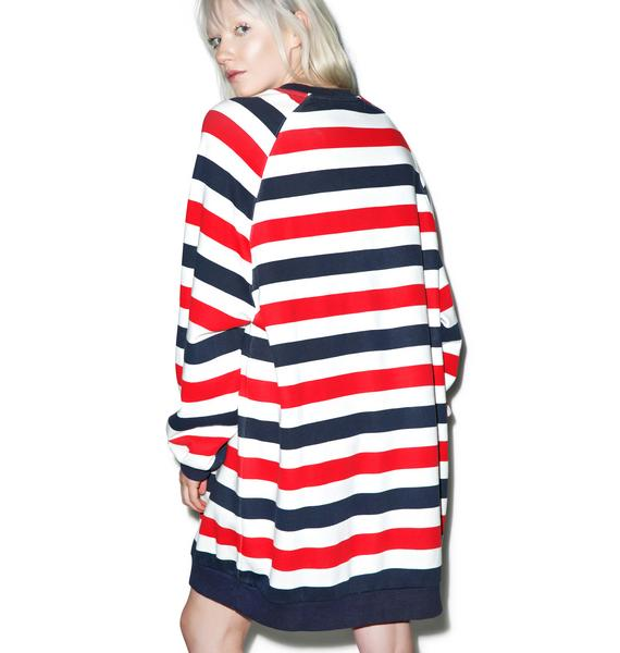 Lazy Oaf Cola Stripe Sweatshirt