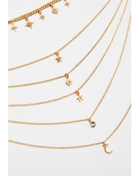 Constellations Layered Necklace