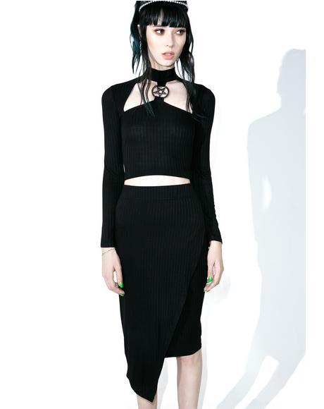 Get Busy Midi Skirt
