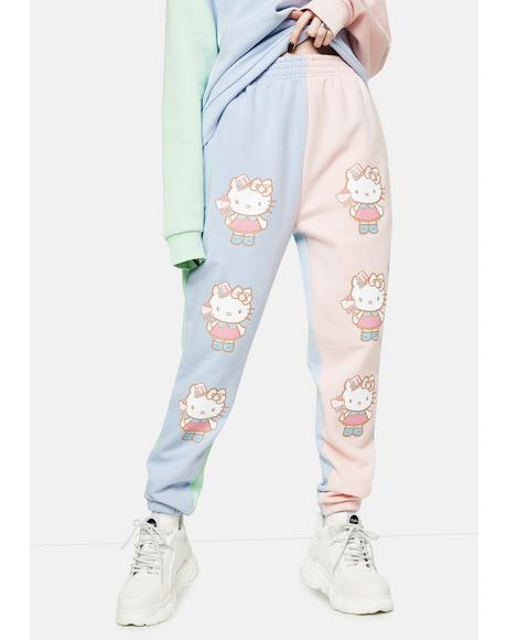 Hello Kitty Color Block Joggers