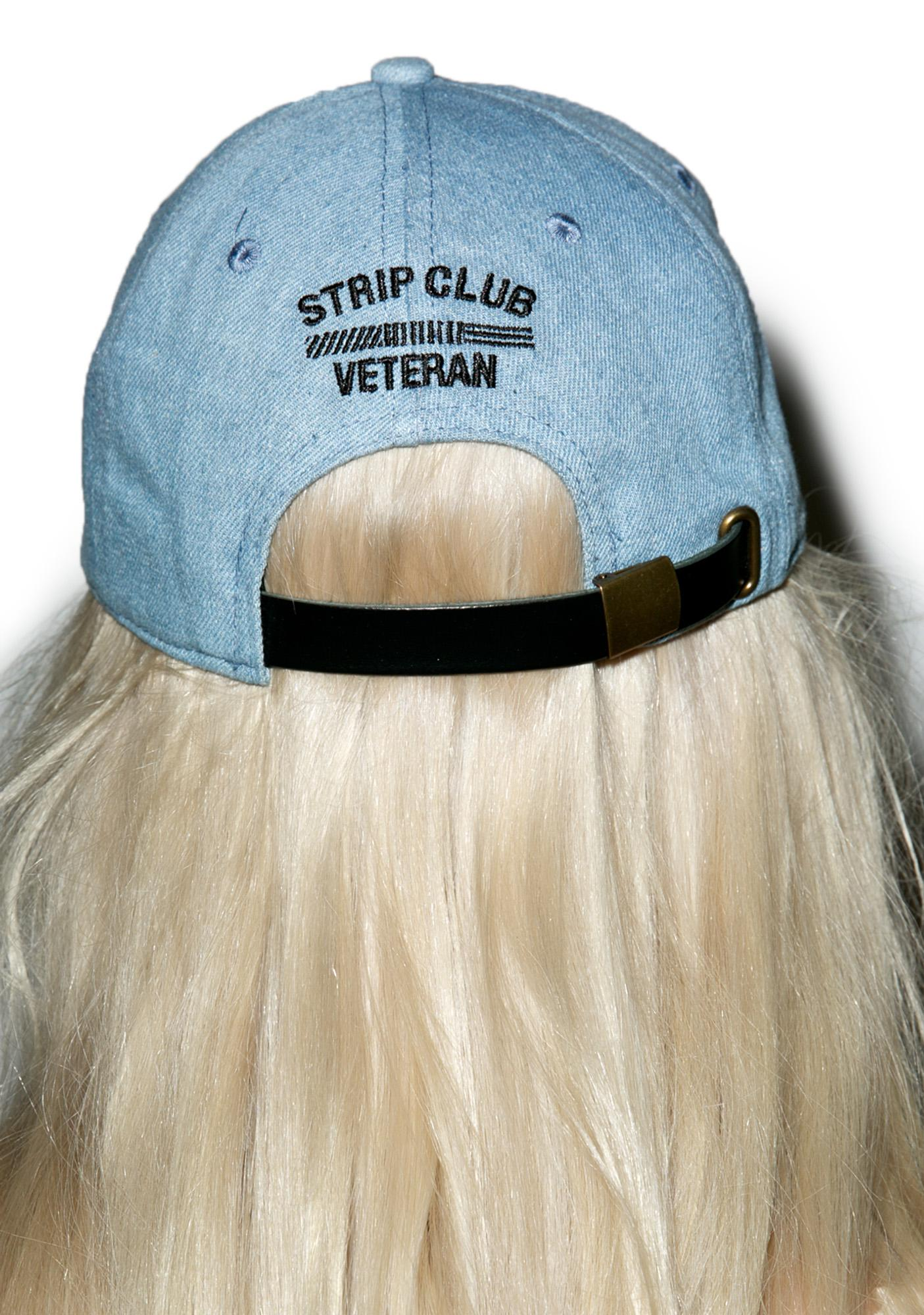 Reason Denim Strip Club Veteran Dad Hat