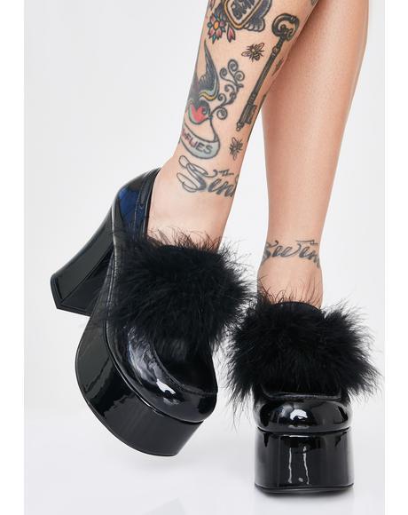 Gossip Girl Platform Heels