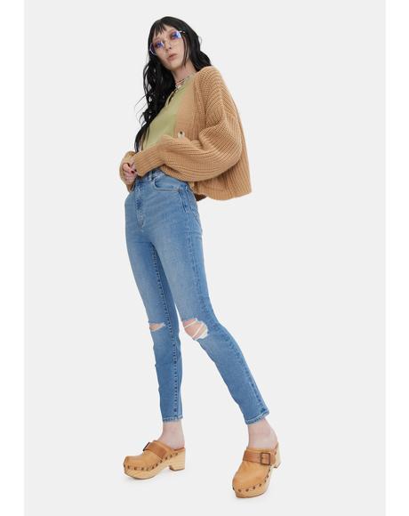 Ocean Worn Eastcoast Ankle Skinny Jeans