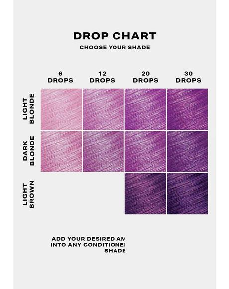 Purple Hair Drop It Dye Kit