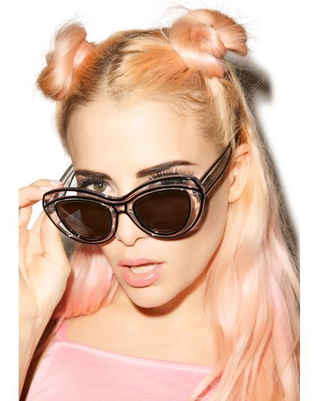 Lyonesse Black Sunglasses