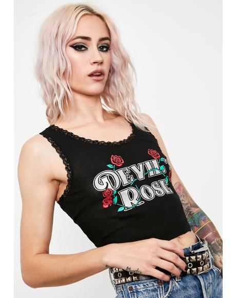 Petal To The Devil Graphic Tank