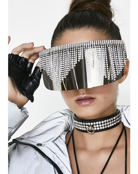 Chrome Rain Shades