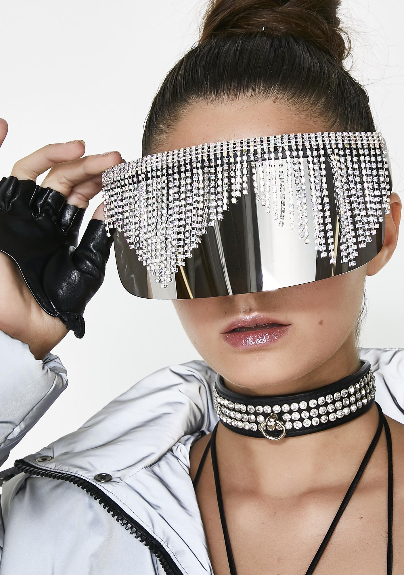 Rad and Refined Chrome Rain Shades
