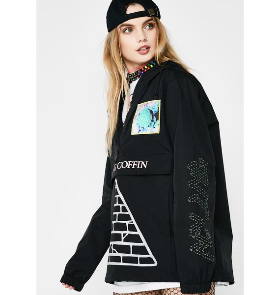 Flying Coffin Black Hole Anorak