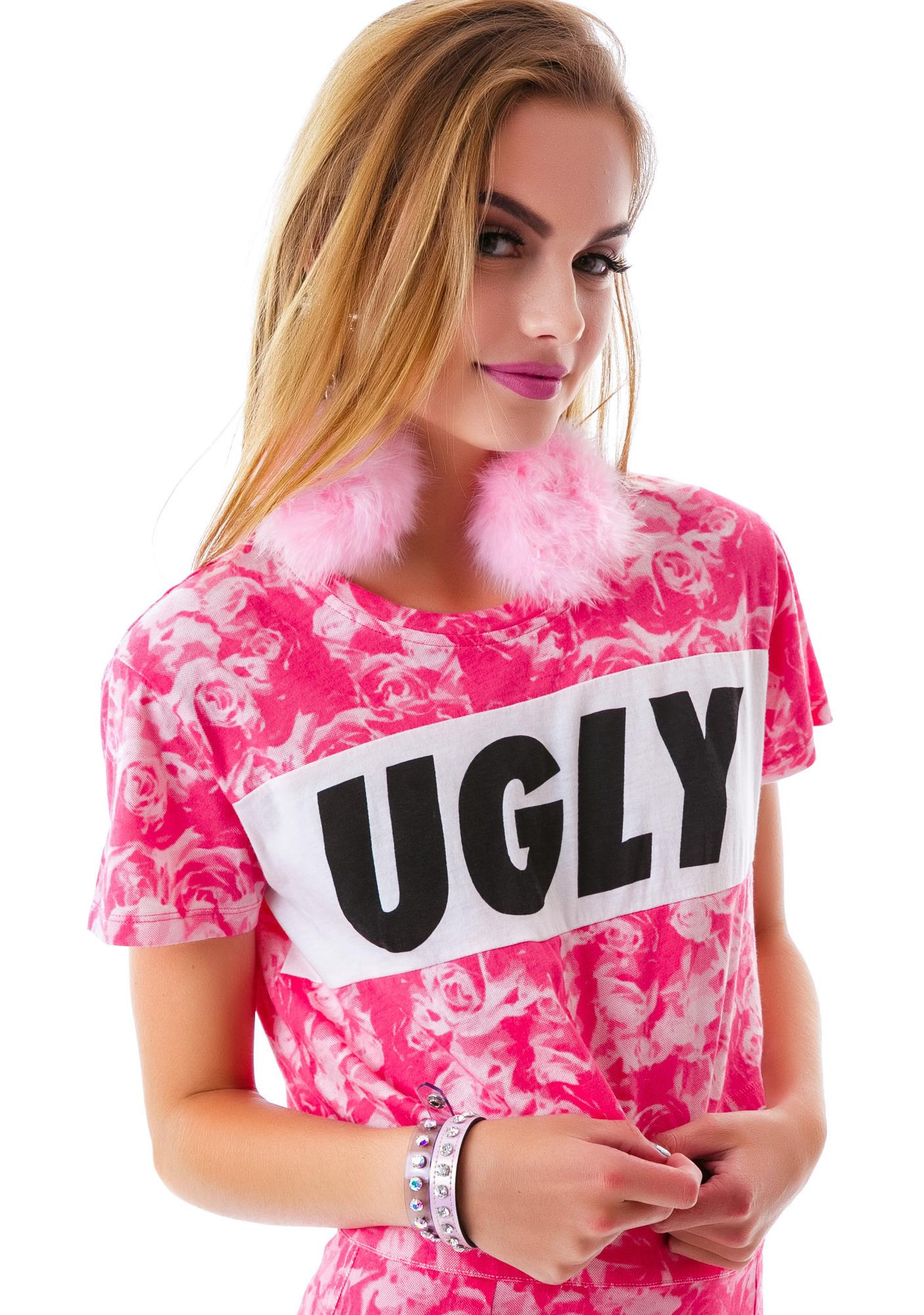 Lazy Oaf Ugly Crop Tee