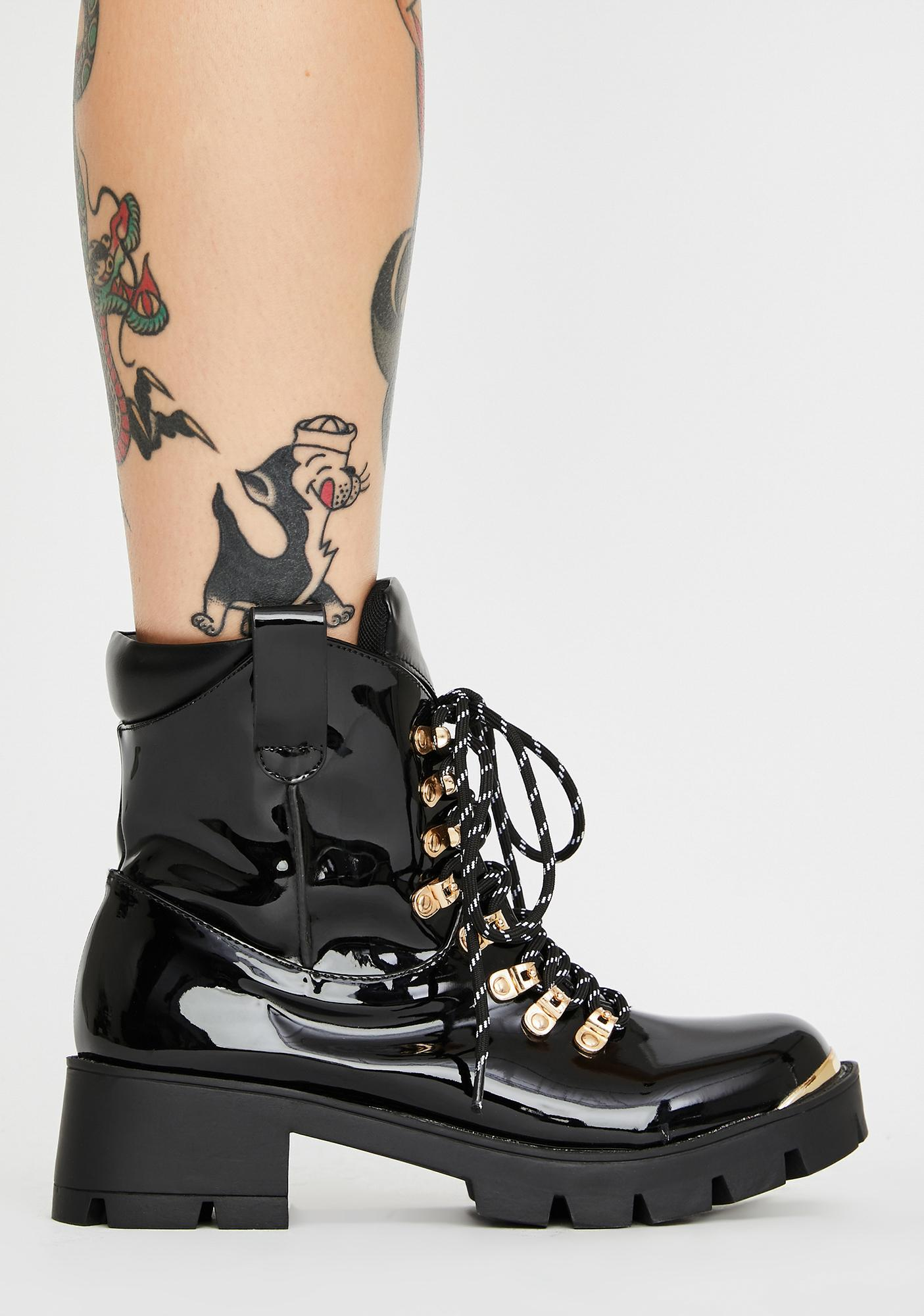 Challenge Me Lace-Up Boots