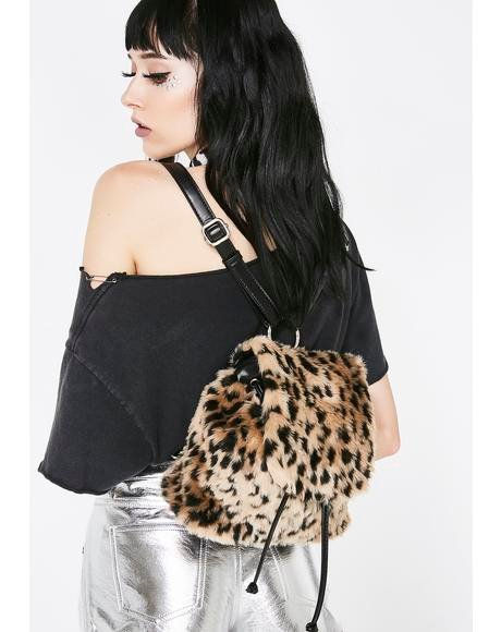 Playful Pounce Leopard Backpack