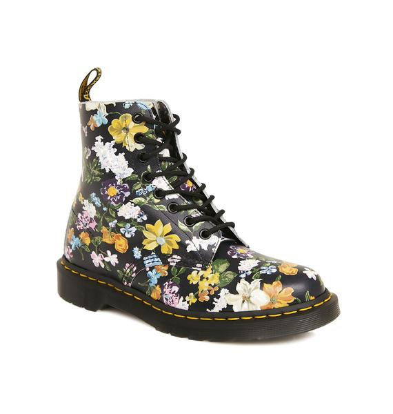 Dr. Martens Pascal Darcy Floral Backhand