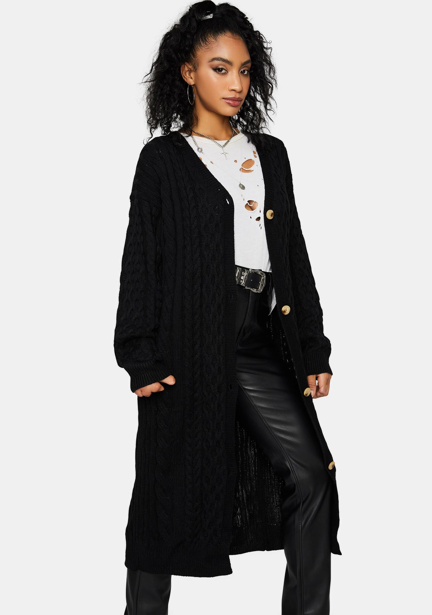 Cuffed Season Long Cardigan