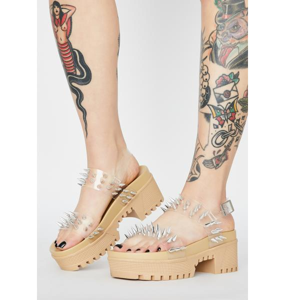 Desert Total Annihilation Spiked Sandals
