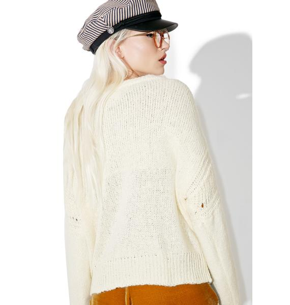 Wildfox Couture Freezin' Ice Cold Sweater