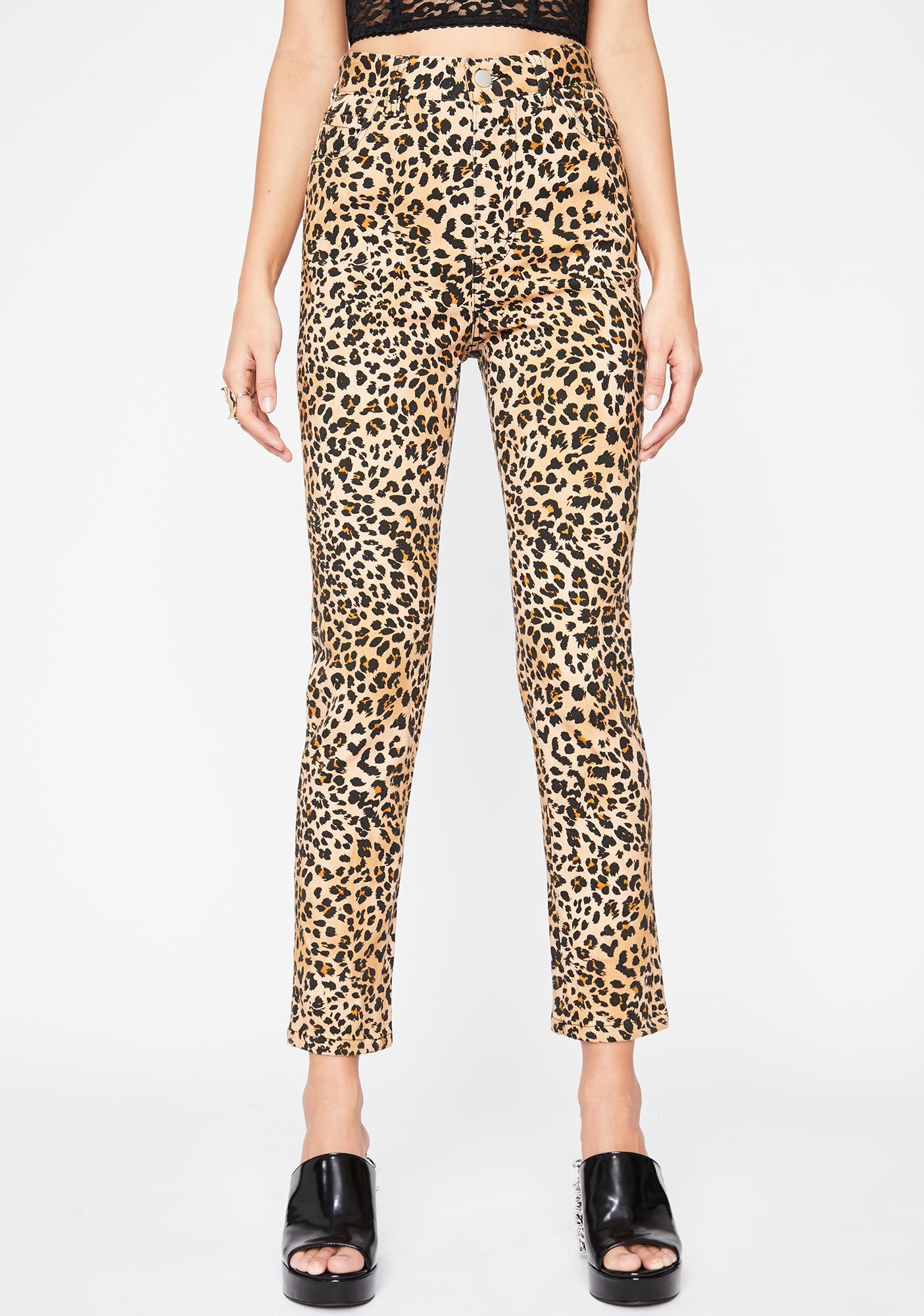 HOROSCOPEZ Stubborn She Cat Skinny Jeans