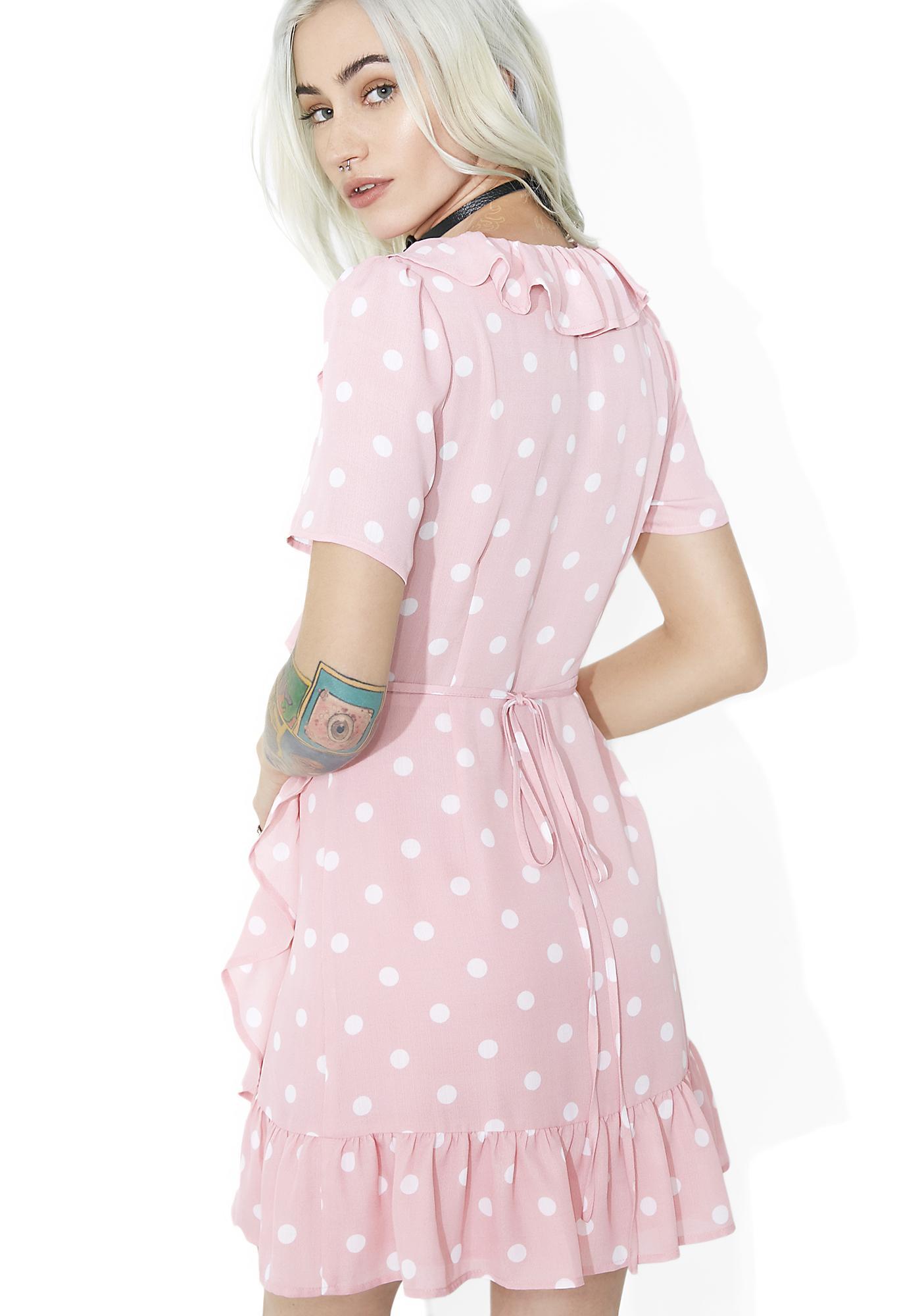 Lola Ruffled Wrap Dress