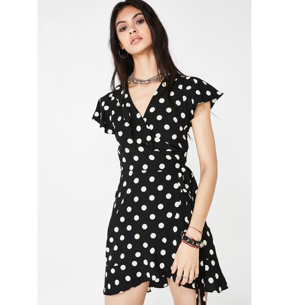 Quirky Girl Polka Dot Dress
