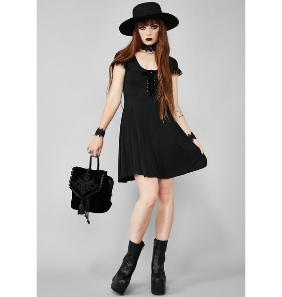 Widow Deadlock Doll Mini Dress
