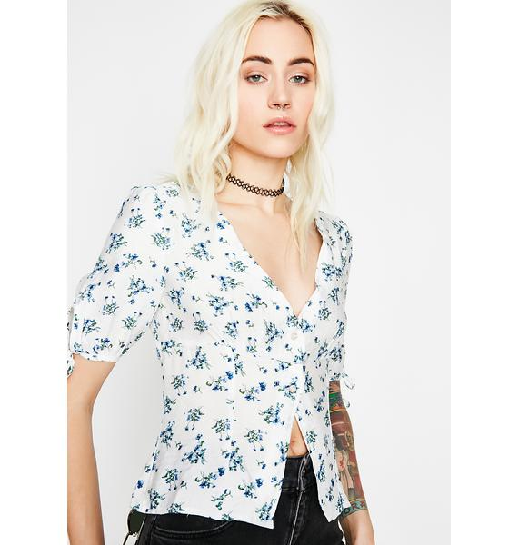 Bouquet Baby Floral Top