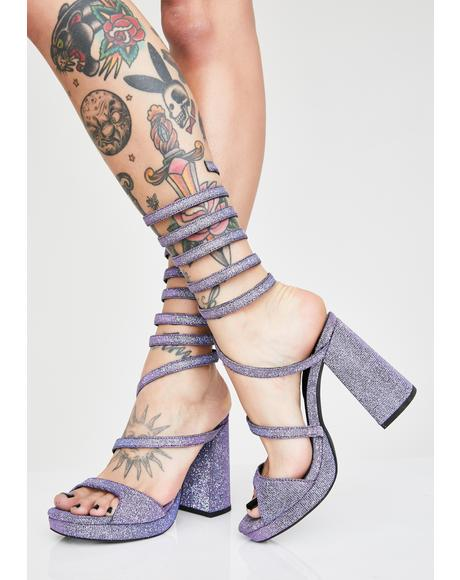 Spiraling Sparkles Heels