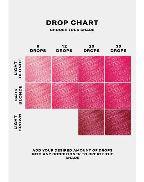 Pink Hair Drop It Dye Kit
