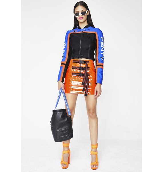 PUMA FENTY PUMA By Rihanna Belted Mini Skirt