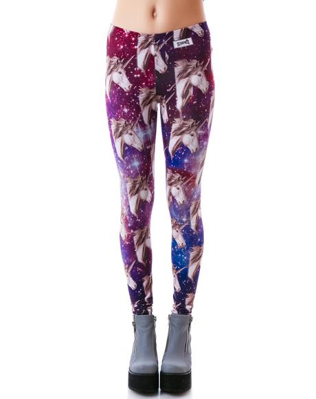 Kaleidoscope Unicorn Leggings
