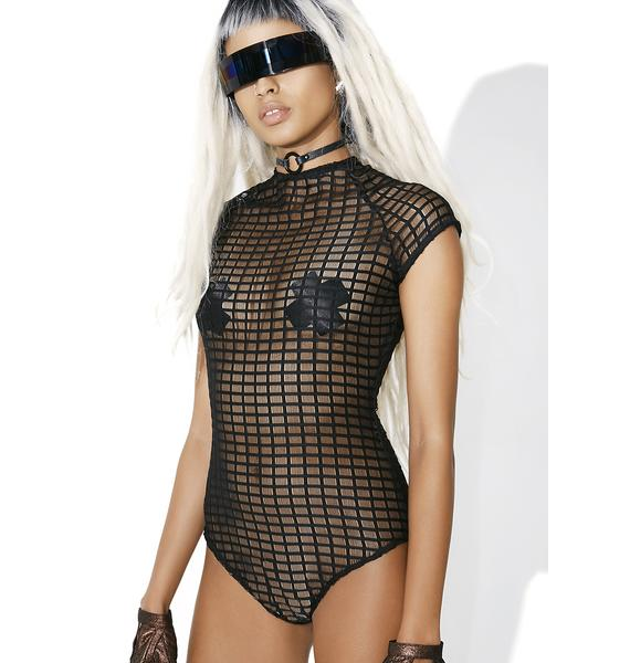 Parallel Universe Sheer Bodysuit
