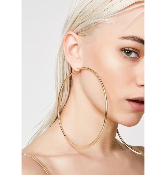 Save Her Hoop Earrings