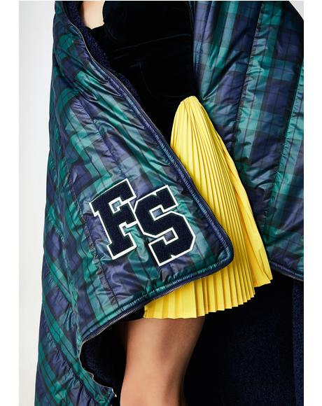 FENTY PUMA By Rihanna Quilted Sleeping Bag Shawl