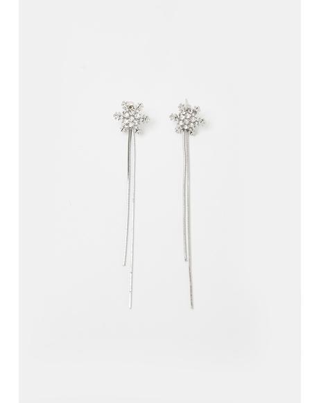 Iconic Iciness Snowflake Earrings