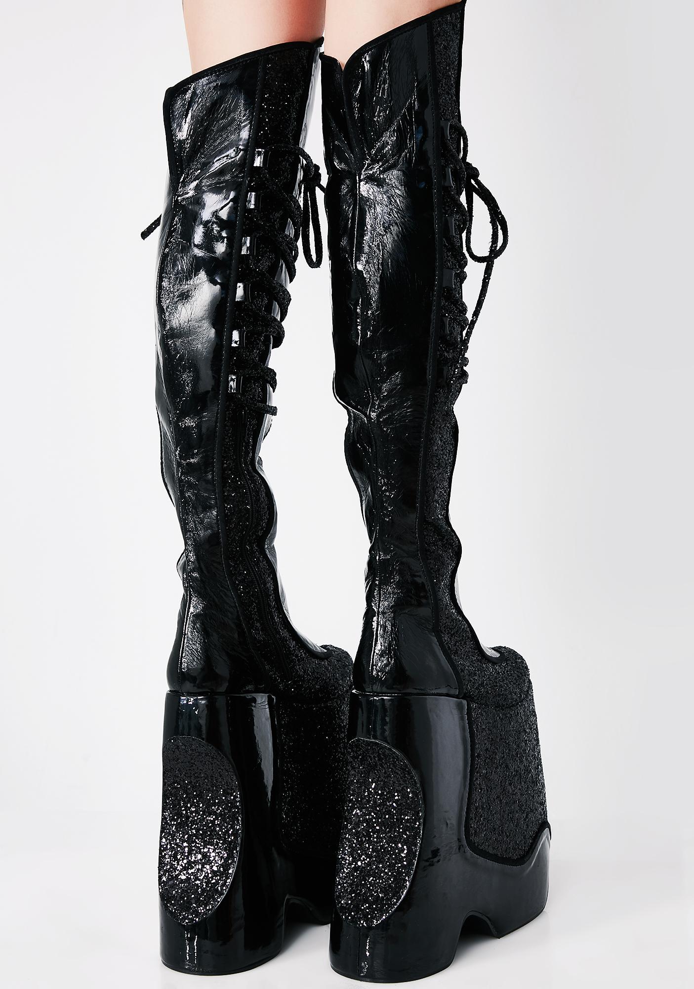 Pleaser Devious Fabulous Platform Boots