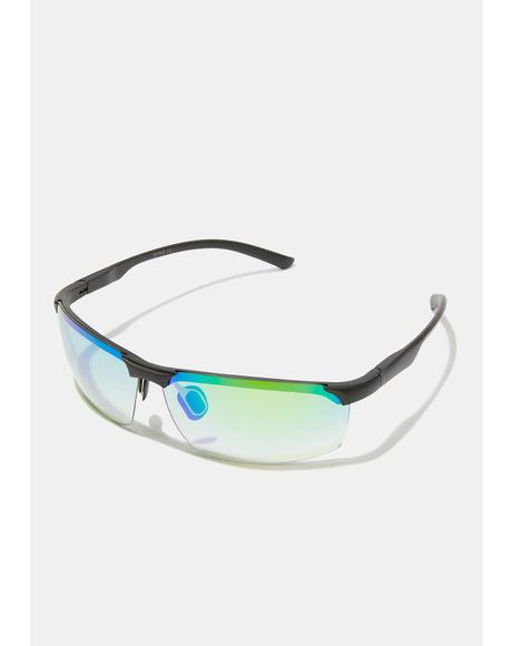 Action Star Frameless Sunglasses