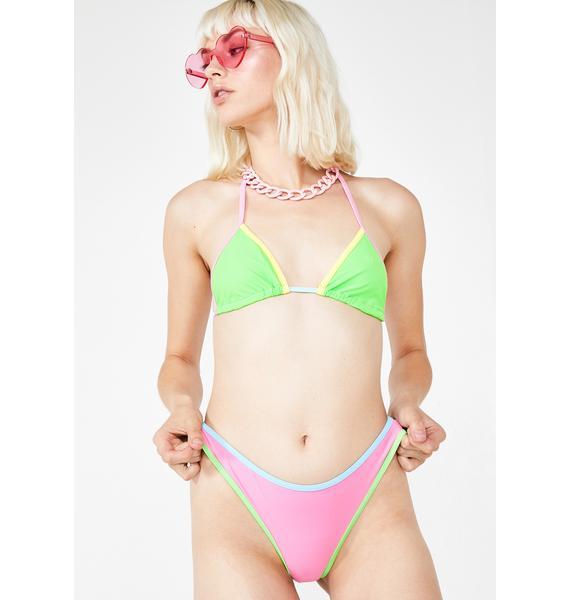 Sugar Thrillz Sweet Lil Snack Bikini Set